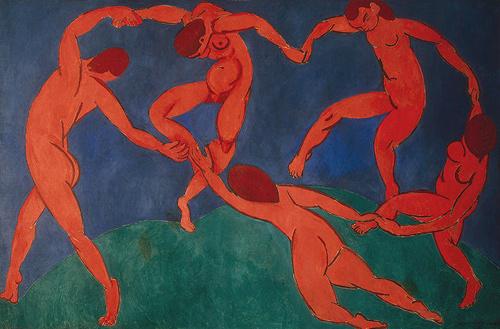 La Danse (seconde version), Matisse, 1909-10