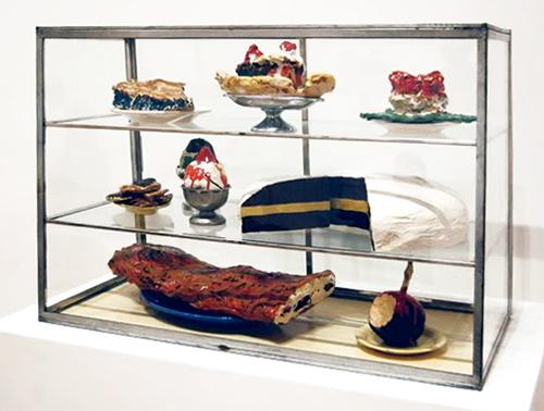 Pastry Case, Claes Oldenburg, 1961-1962