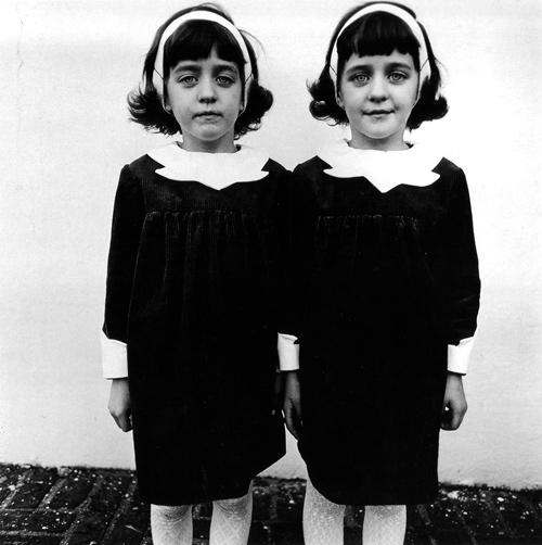 Identical Twins, Diane Arbus, 1967