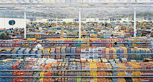 99 cent, Andreas Gursky, 1999
