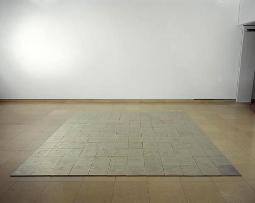 144 Tin Square, Carl Andre, 1975