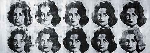 Ten Lizes, Warhol, 1963