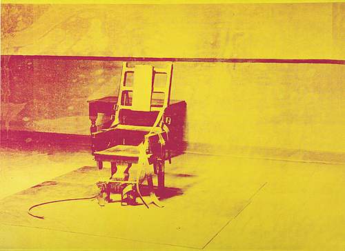 Electric Chair, Warhol Andy, 1965