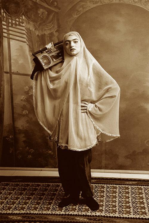 Untitled Qajar Series, 1998-1999