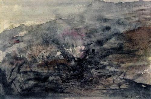 Sans titre, Zao Wou Ki, 1967