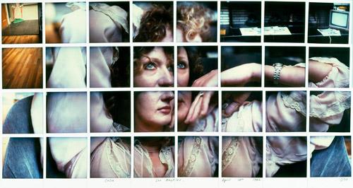 Celia, Los Angeles, 10 avril 1982, David Hockney, Polaroid
