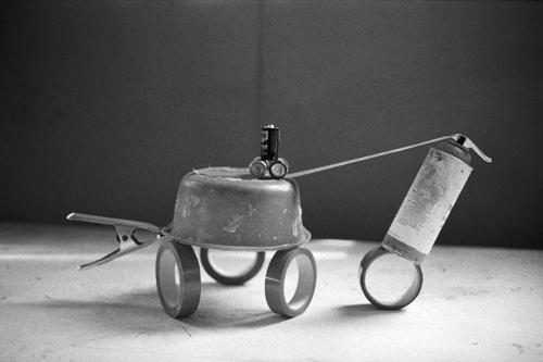 Ben Hur, Fischli and Weiss, photographie tirage argentique, 30x40 cm Courtesy Matthew Marks Gallery, New York, 1984-87