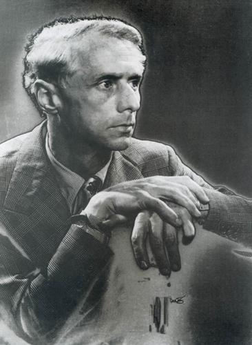 Max Ernst, photographie de Man Ray, 1935