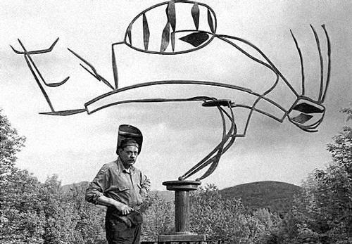 David Smith devant Australia (1951)