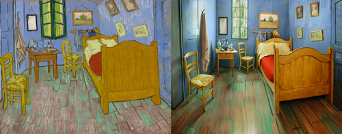 La Chambre de Van Gogh à... Chicago - Blog-notes | arts plastiques